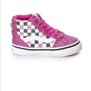 NEW Vans Ward Hi Zip Toddler Skate Shoes Sz 10T
